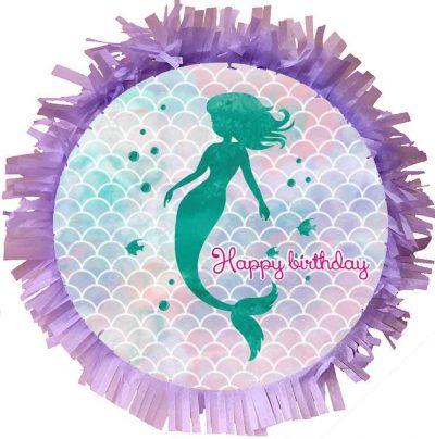 Χειροποίητη Πινιάτα πάρτυ Mermaid