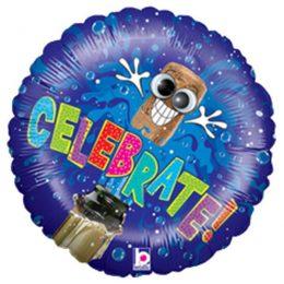 Μπαλόνι αποφοίτησης Celebrate wiggle eyes 45 εκ