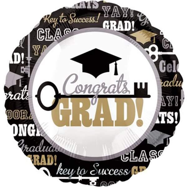 Μπαλόνι αποφοίτησης Key to success 45 εκ