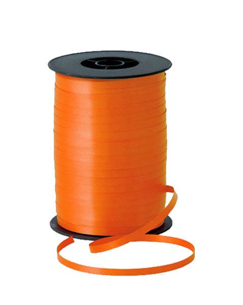 Κορδέλα Πορτοκαλί για μπαλόνια 500μ