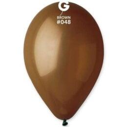 13″ καφέ λάτεξ μπαλόνι