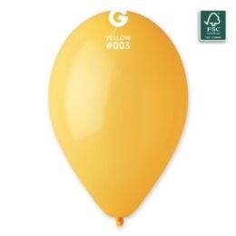 13″ Κίτρινο goldenrod λάτεξ μπαλόνι