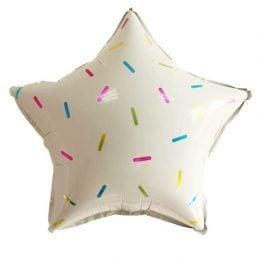 Μπαλόνι Αστέρι με πολύχρωμες πινελιές