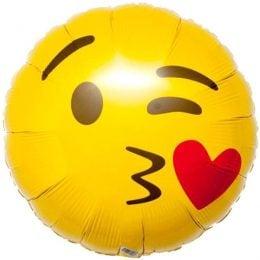Μπαλόνι emoji φιλί 45 εκ
