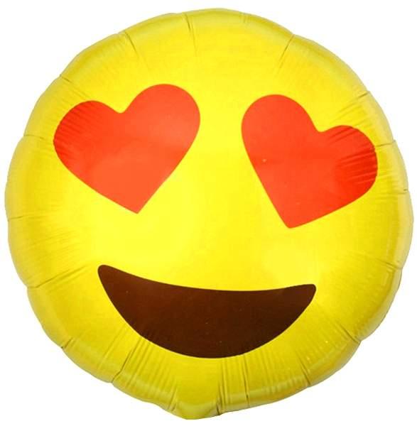 Μπαλόνι emoji καρδούλες