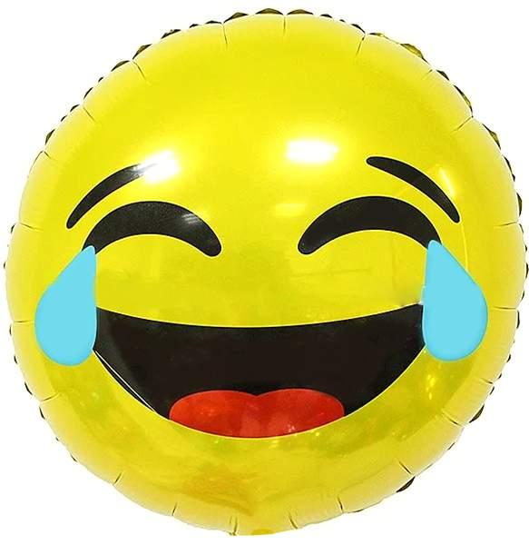 Μπαλόνι emoji γέλιο