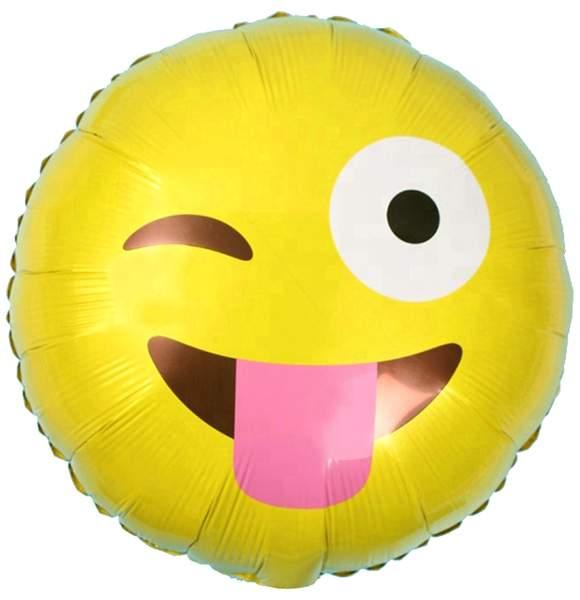 Μπαλόνι emoji γλώσσα