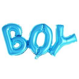 Μπαλόνι φράση γαλάζιο BOY 91 εκ