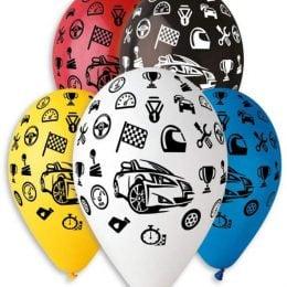 """12"""" Μπαλόνι τυπωμένο Αυτοκινητάκια"""