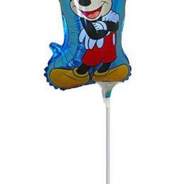 Μπαλόνι με καλαμάκι Mickey Mouse 49 εκ