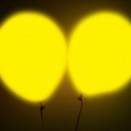 12″ Κίτρινο Μπαλόνι με φωτάκι LED (2 τεμ)