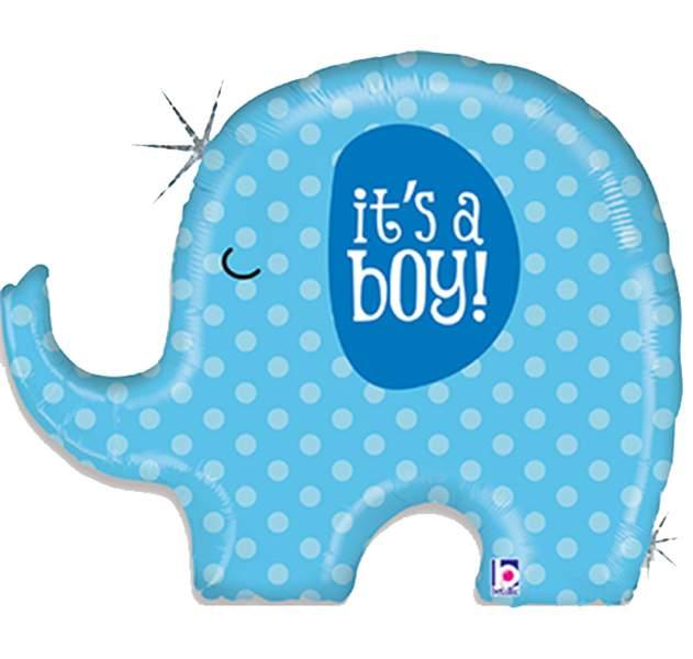 Μπαλόνι γέννησης Its a boy ελεφαντάκι 81 εκ
