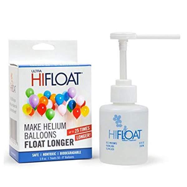 Hi-float βοηθάει τα μπαλόνια σας να πετάνε για πολλές μέρες