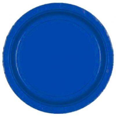 Πιάτα πάρτυ μπλε