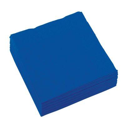 Χαρτοπετσέτες μπλε ρουά (20 τεμ)