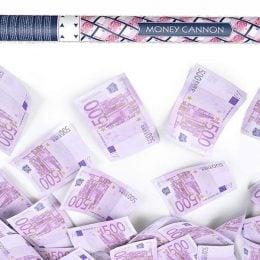 Κανονάκι με χαρτονομίσματα 500 ευρώ