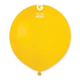 """48cm – 19"""" Κίτρινο μεγάλο μπαλόνι"""