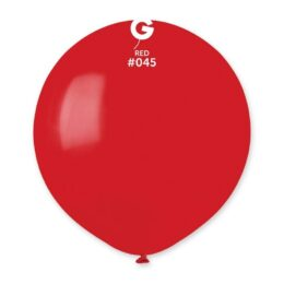 """48cm – 19"""" Κόκκινο μεγάλο μπαλόνι"""