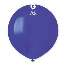 "48cm – 19"" Μπλε μεγάλο μπαλόνι"