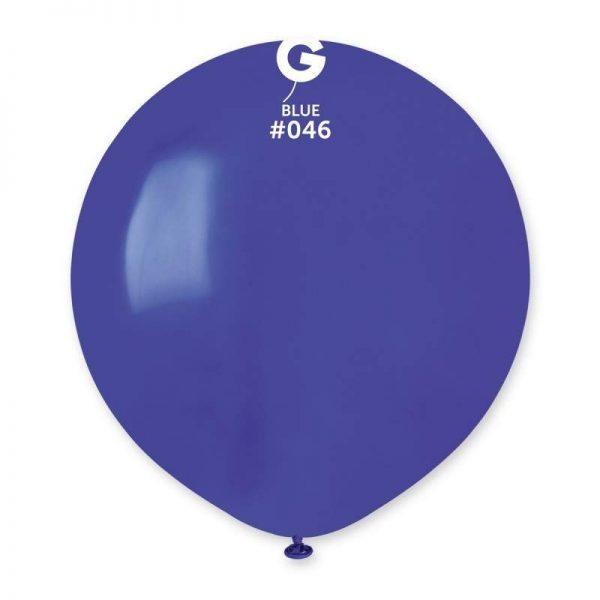 48cm - 19'' Μπλε μεγάλο μπαλόνι