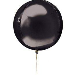 Μπαλόνι τρισδιάστατο Μαύρη σφαίρα