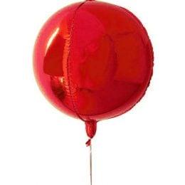 Μπαλόνι τρισδιάστατο Κόκκινη σφαίρα