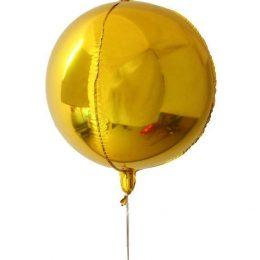 Μπαλόνι τρισδιάστατο Χρυσή σφαίρα