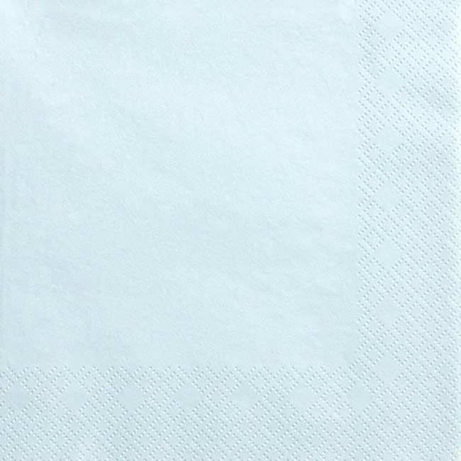 Χαρτοπετσέτες ανοιχτό γαλάζιο (20 τεμ)