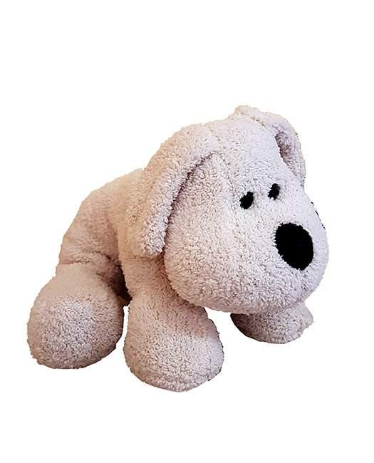 Χνουδωτό μαλακό μπεζ Σκυλάκι
