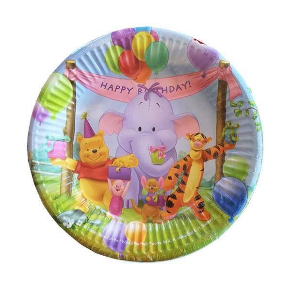 Πιάτα πάρτυ μικρά Winnie the pooh (10 τεμ)