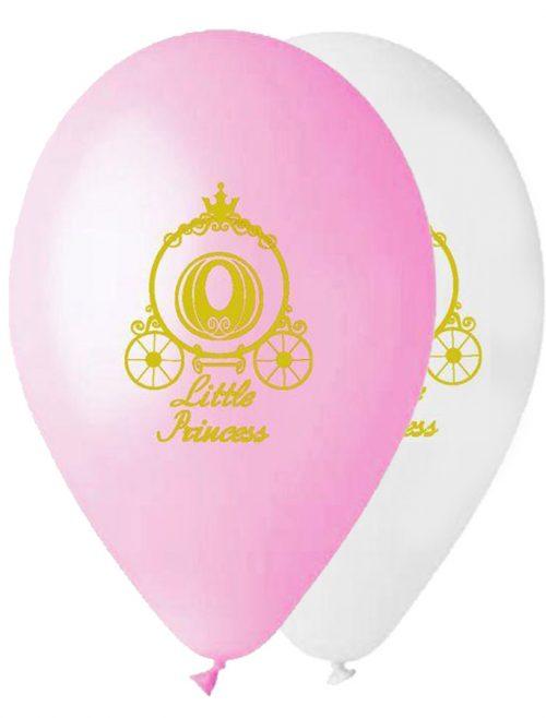"""12"""" Μπαλόνι τυπωμένο χρυσή Άμαξα"""