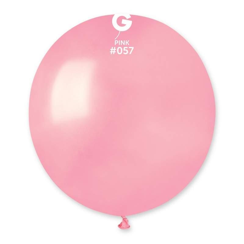 "48cm – 19"" Ροζ μεγάλο μπαλόνι"