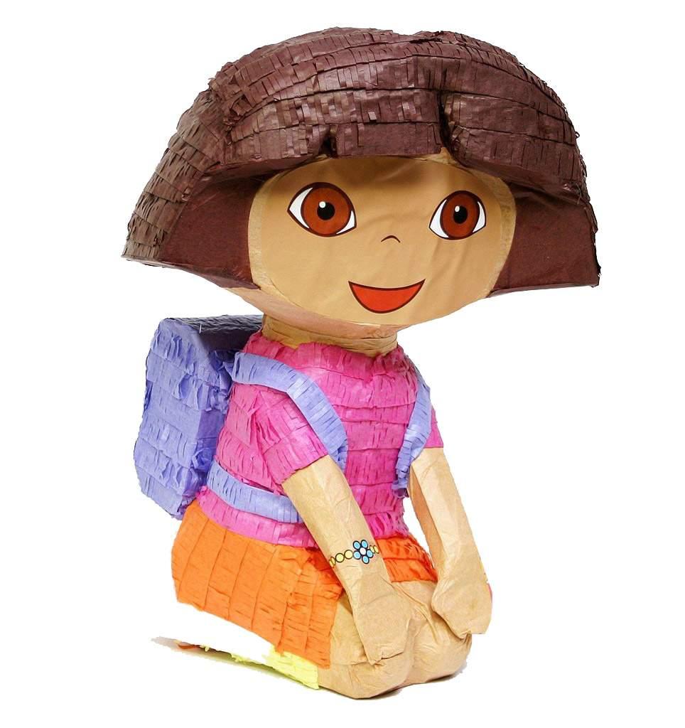Πινιάτα πάρτυ Ντόρα η μικρή Εξερευνήτρια