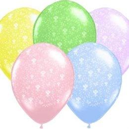 12″ Μπαλόνι τυπωμένο Λουλούδια