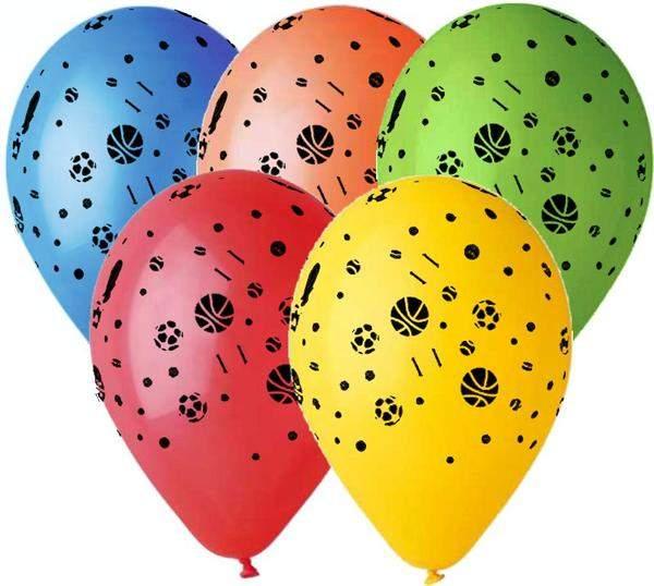"""12"""" Μπαλόνι τυπωμένο Μπάλες"""