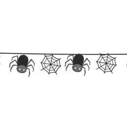 Διακοσμητική γιρλάντα Halloween Αράχνες (6 τεμ)