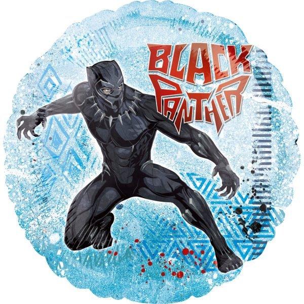 Μπαλόνι Black Panther Avengers στρογγυλό