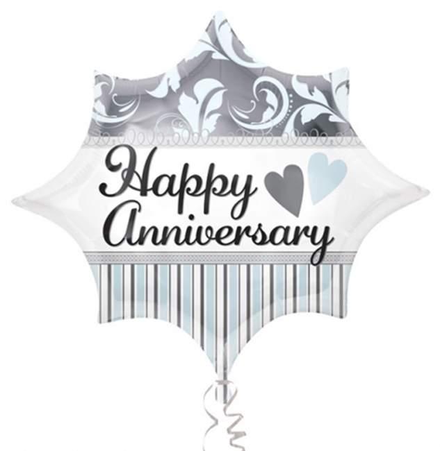 Μπαλόνι επετείου Happy Anniversary 50 εκ
