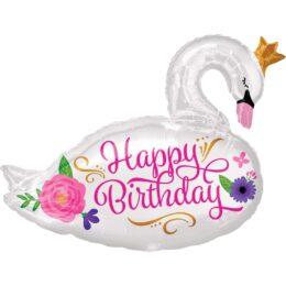Μπαλόνι για γενέθλια όμορφος Κύκνος