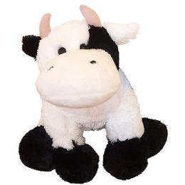 Μαλλιαρή γλυκιά ασπρόμαυρη Αγελαδίτσα