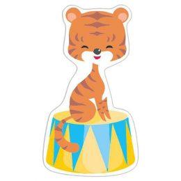 Διακοσμητική φιγούρα Circus τίγρης