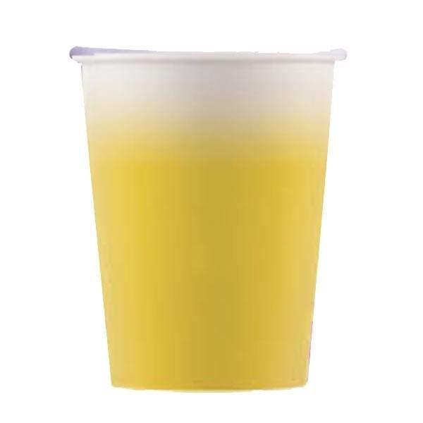 Ποτήρια πάρτυ χάρτινα κίτρινα (8 τεμ)