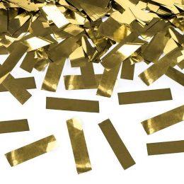 Κανονάκι με Χρυσό μεταλλικό κομφετί