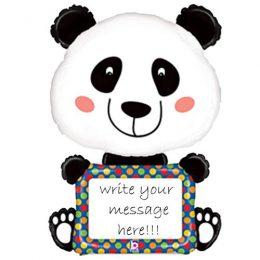 Μπαλόνι Panda μαζί με μαρκαδόρο