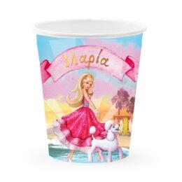 Ποτηράκια Barbie μπαλαρίνα (6 τεμ)
