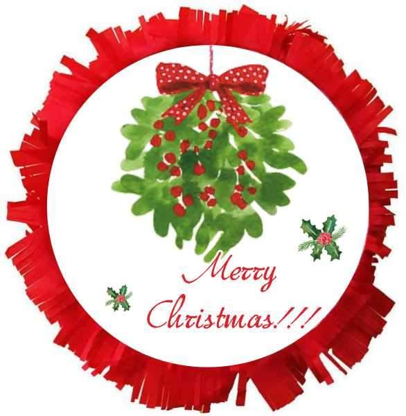 Χειροποίητη μεγάλη Πινιάτα merry Christmas