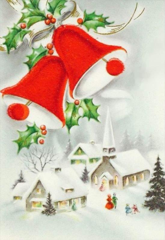Χριστουγεννιάτικη κάρτα Let it snow