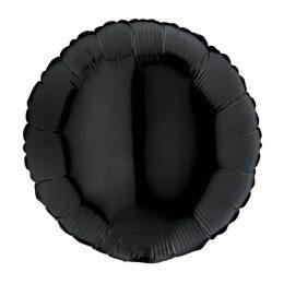 Μπαλόνι μαύρο στρογγυλό 18″