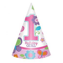 Καπελάκι πάρτυ 1st birthday girl