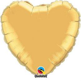 """Μπαλόνι καρδια 18"""" Μεταλλικό χρυσό"""